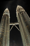 Another way to see the Twins - Kuala - Twins by night