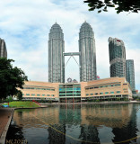 Another way to see the Twins - Kuala Lumpur- Other side
