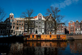 Amsterdam - CityScape - Along Canals - 0764