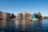 Amsterdam - CityScape - Along Canals - 0703