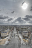 Champs Elysees , la plus belle avenue du monde (Paris) (HDR)