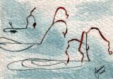 Grass Shadows in Snow   1-10