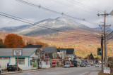 Lincoln, Vermont with White Mountains in background