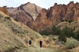 Dago gulch hikers