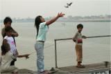 releasing birds-Phnom Penh