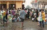 City shrine at dusk-Phnom Penh