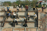 Dam workers-Phnom Penh outskirts
