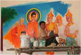 Mural artist-Kandal Province