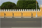 Changing of the guard-Phnom Penh