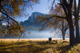 a painter's contemplation of Half Dome