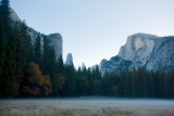 Eastern Yosemite Valley at dawn