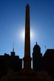 Silhouette Of Niagara Square
