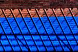 More Blue Brick Shadows