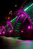 Peace Bridge At Night 2