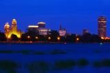 Blue Summer Night In Buffalo