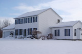 Phil's and Callie's  House In Winter (Tri-Hill Acres)