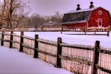 Knox Farm Snow Fence 8:59 AM