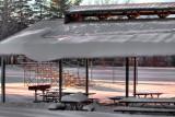 Hamlin Park Shelter Winter