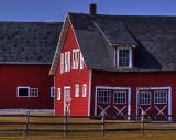 Sun On The Barn