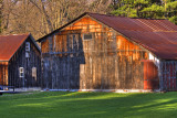 The Out Barn On Kalla's Farm On Ostraner Road