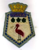 HMCS Uganda crest