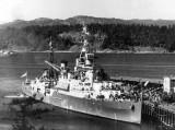 HMCS Uganda at Esquimalt