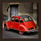 Red Car:  2 CV