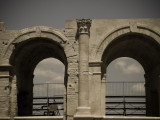 Roman arena detail