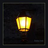 Nizas, street light