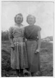 Doris Marie Fingleman Kaiser & Frances Carlisle.