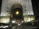 driving home across the Chain Bridge