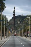 view towards Plaça de Colom