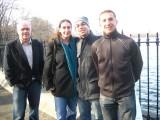 Dad, Francine, Me, Nate