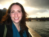 Francine on the South Bank
