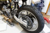 2618 Rear wheel in place
