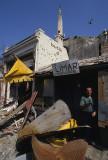 Destroyed workshop