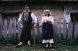Croats in mountain village