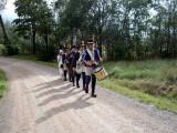 Skaraborgare och kronojägare på marsch mot Kvistrum