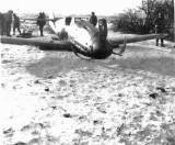 Maxis' destroyed Messerschmitt 109 G14A/S
