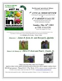 MMIM 7th Annual Dinner  & 4th Farmer's Salute - Sunday, May 16th, 2010