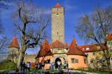 Rothenburg Main City Gates, Bavaria