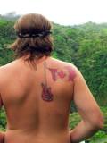 Encounter With Wild Life At Arenal Volcano...Presumingly Homo Canadius ?!