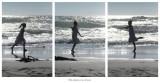 Ella danza con el mar