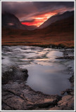Glen Coe Last Light