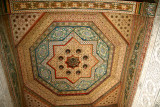 Another ceiling close-up in the Bahia Palace in Marrakech.