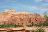 Ait Ben Haddou doesn't look real.  It looks, instead, like a Hollywood set.  Many movies have been filmed there.