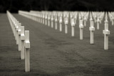 Omaha Beach, Normandy, American Cemetery at Colleville/Mer
