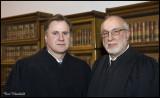 Judge Steve Minor,Retired Judge John Leete