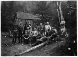 West Pike 1910,  Lumber Camp of James Barley