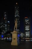 Raffles' Statue